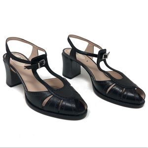 Fendi Shoes - Fendi Kassondra 65mm Chameleon Leather Block Heel